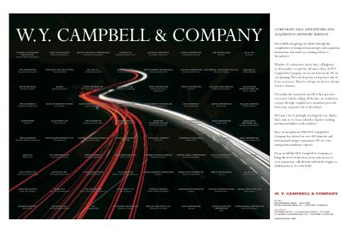 W.Y. Campbell & Company3