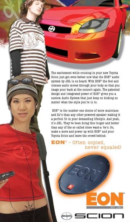 JBL EON Sound System