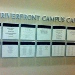 U of D - Law Donor Wall 1